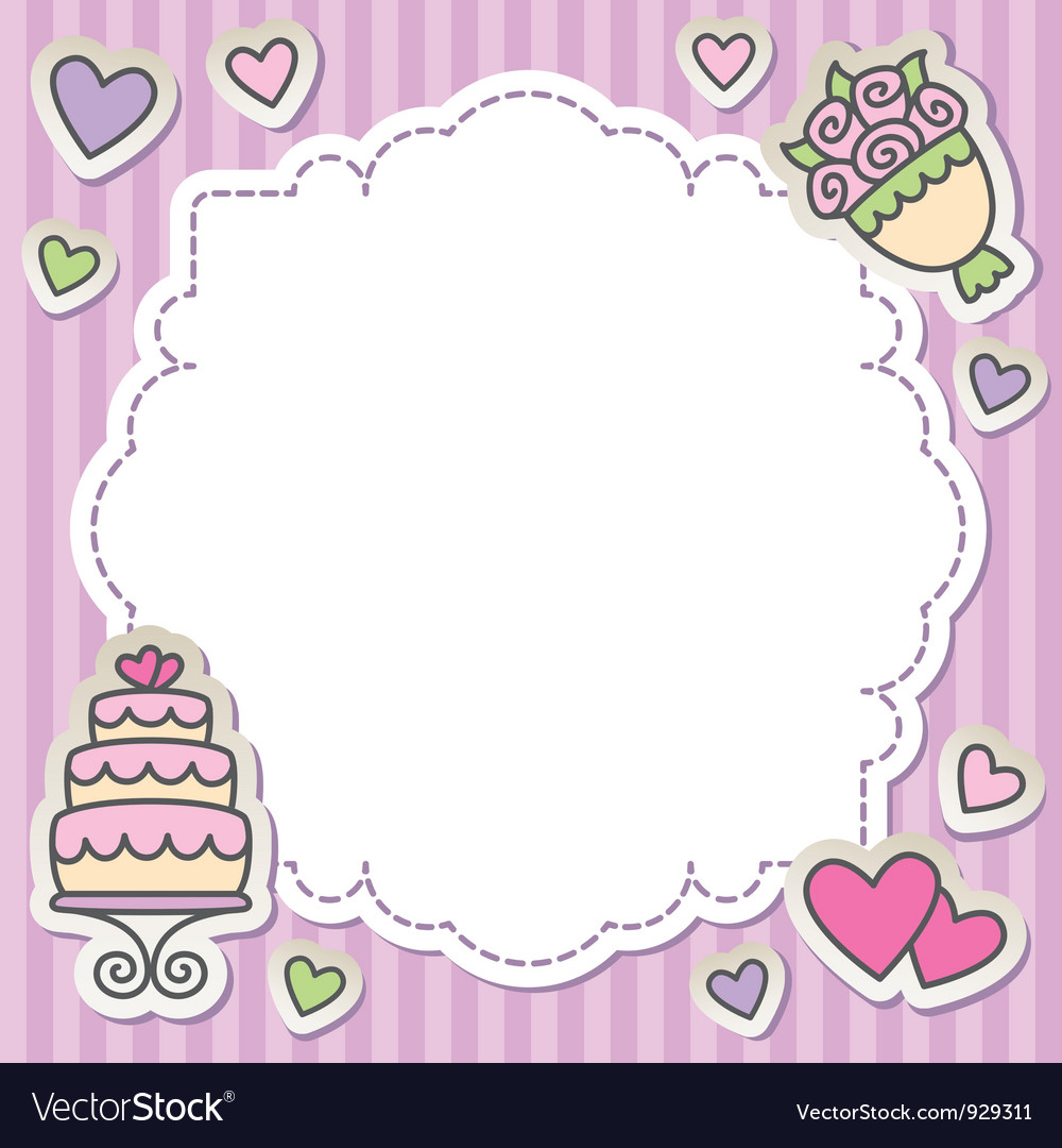 Wedding frame vector | Price: 1 Credit (USD $1)