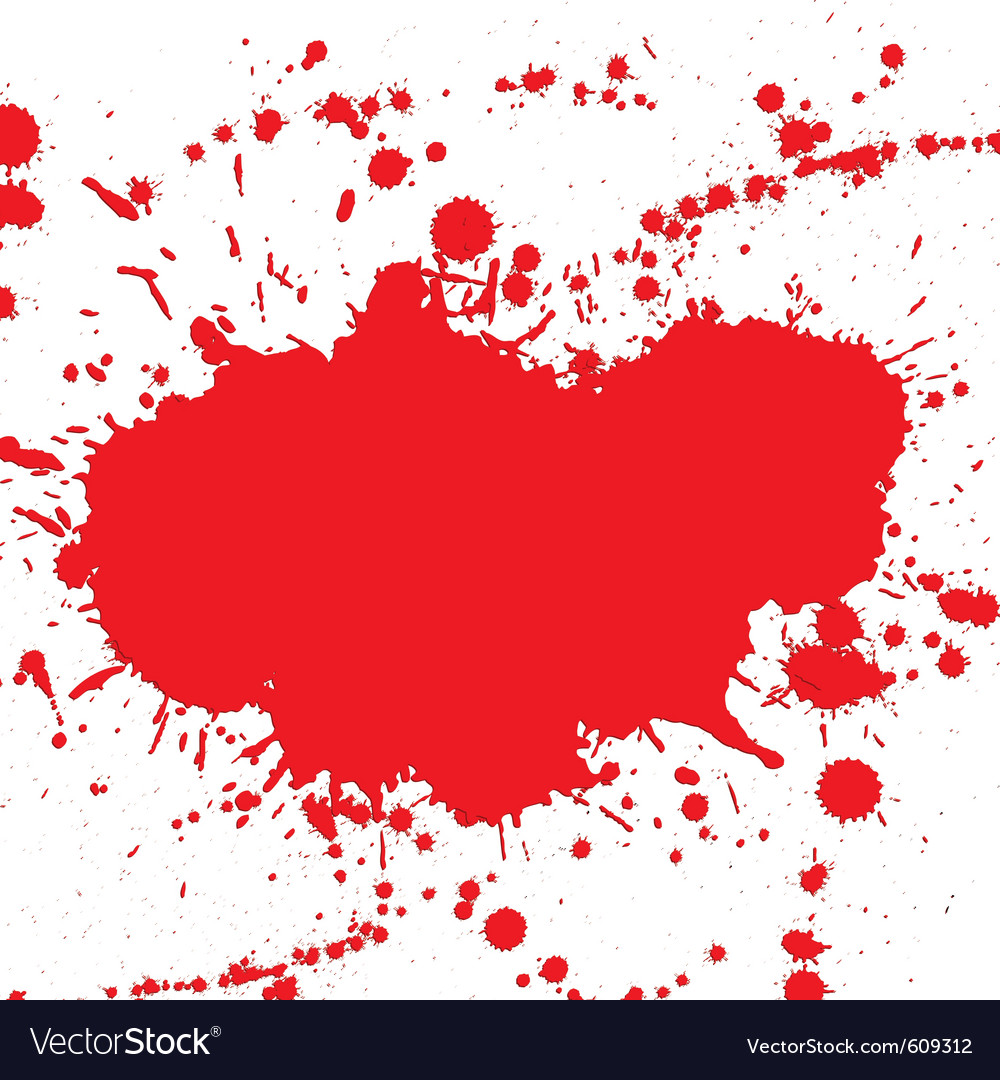 Drop ink splatter vector | Price: 1 Credit (USD $1)