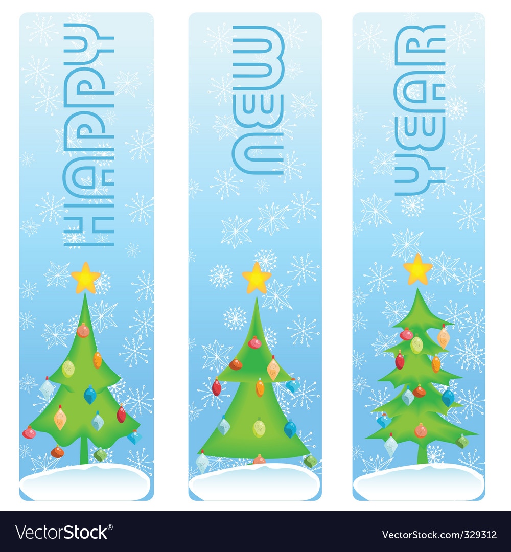 New year banner vector | Price: 1 Credit (USD $1)