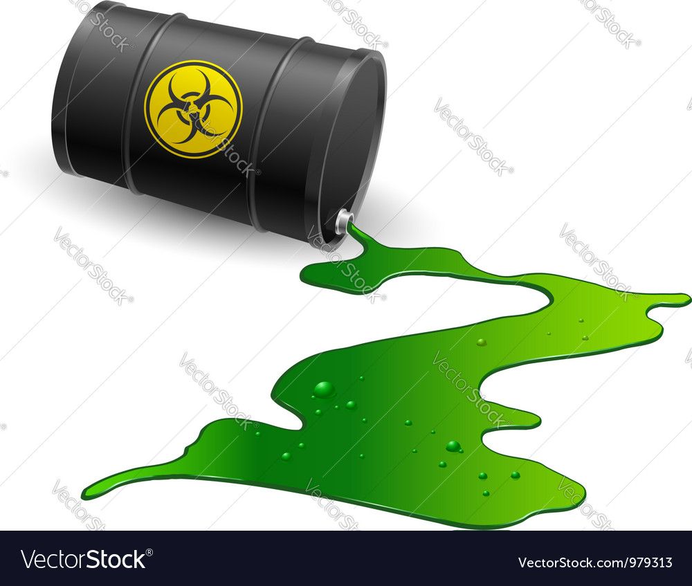 Chemical barrel vector | Price: 1 Credit (USD $1)