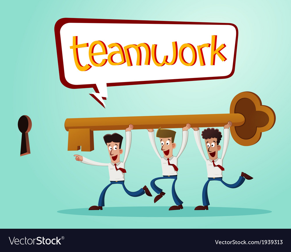 Solve problems together vector   Price: 1 Credit (USD $1)
