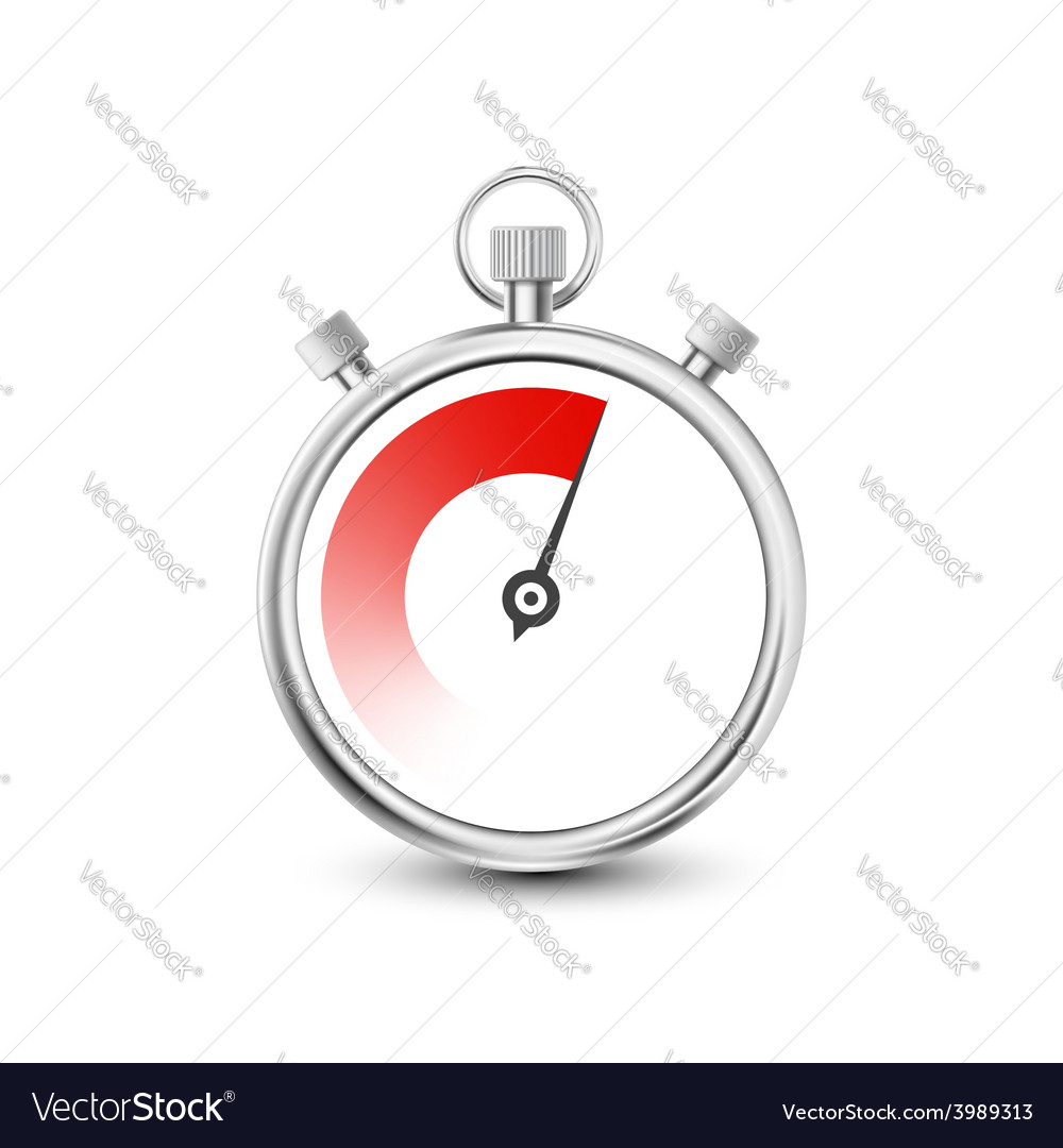 Stopwatch to measure time intervals vector   Price: 1 Credit (USD $1)
