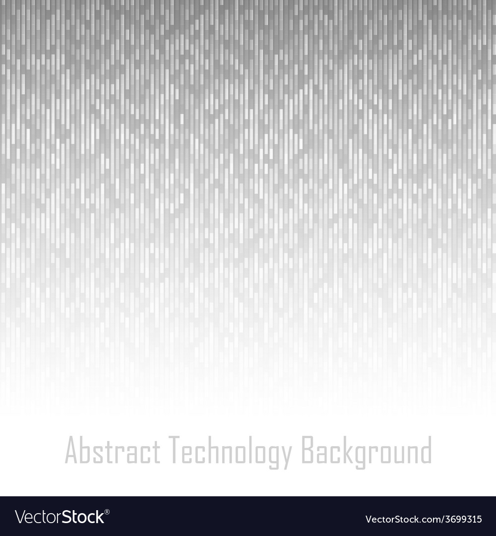 Abstract gray technology lines background vector | Price: 1 Credit (USD $1)