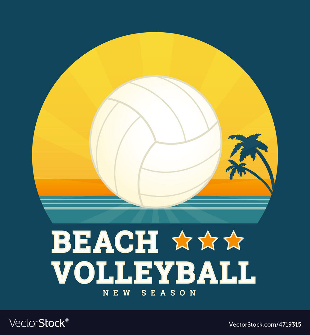 Beach volleyball vector   Price: 1 Credit (USD $1)