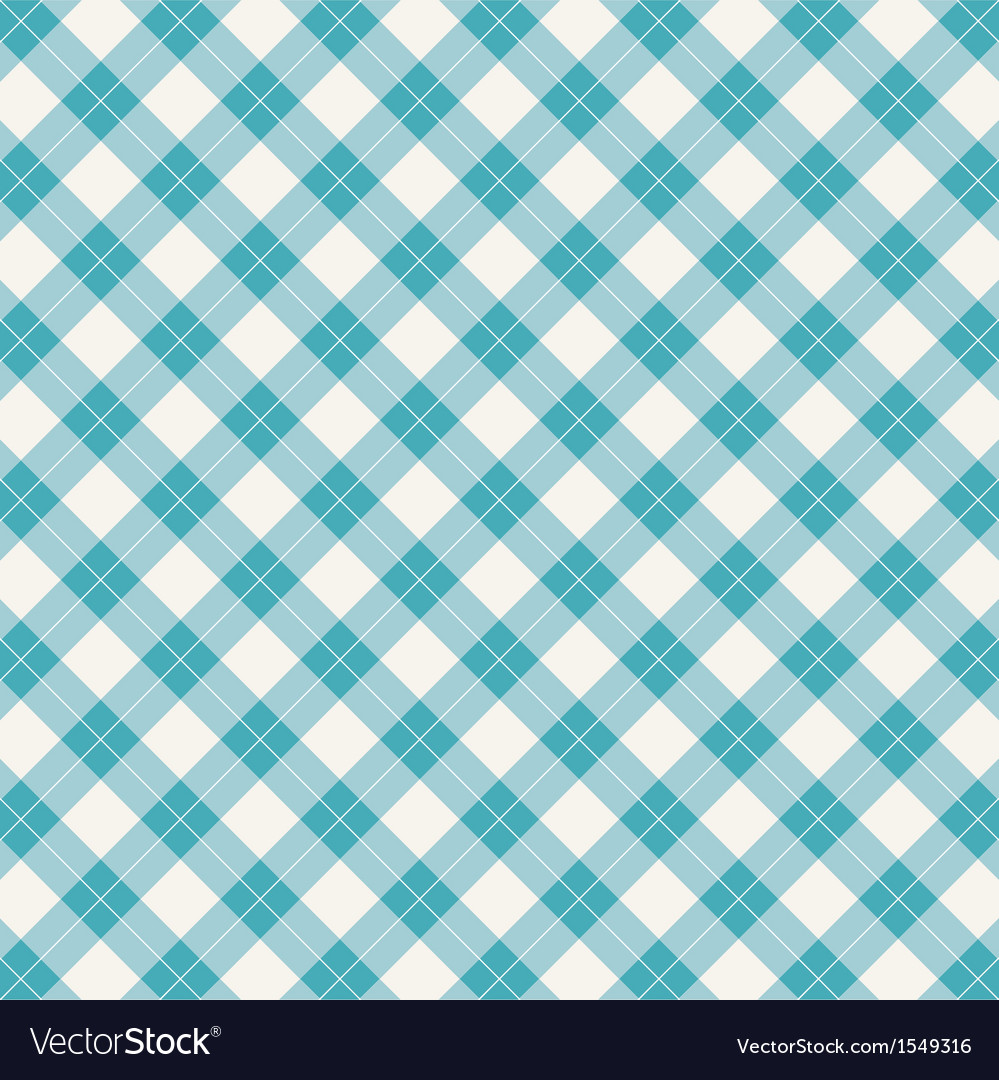 Background seamless pattern gingham tablecloth vector | Price: 1 Credit (USD $1)