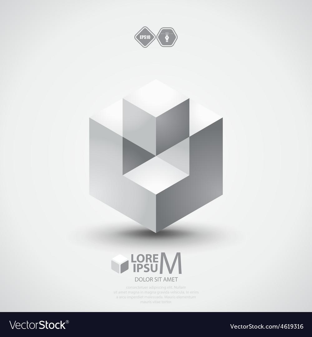 Cube logo vector   Price: 1 Credit (USD $1)