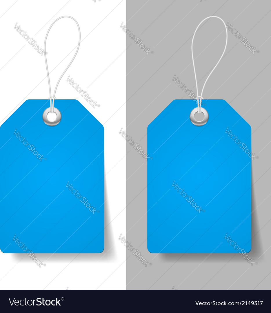 Blue price tags vector | Price: 1 Credit (USD $1)