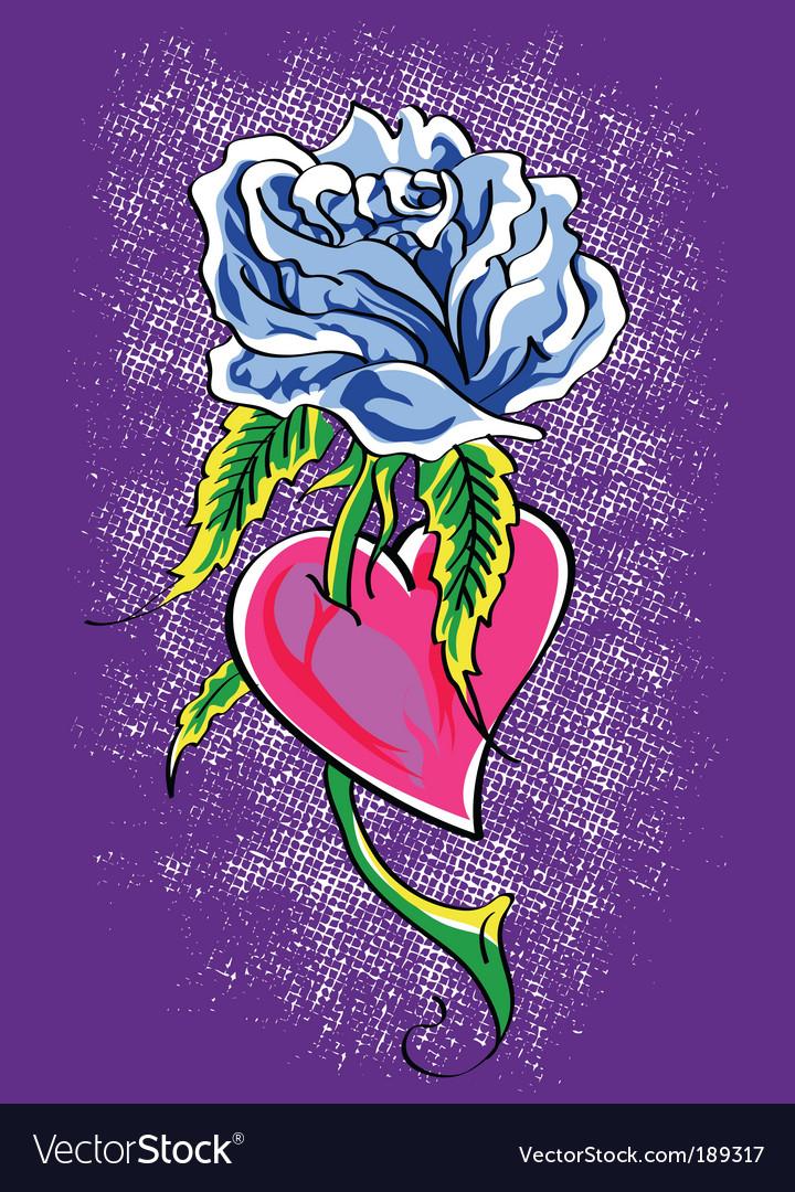 Rose tattoo vector   Price: 1 Credit (USD $1)