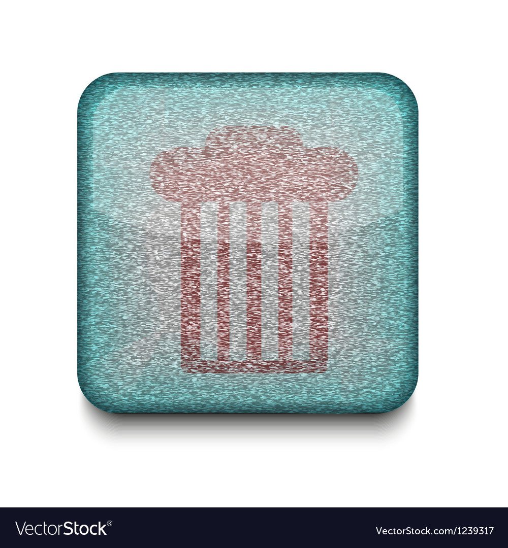 Rubbish bin icon vector | Price: 1 Credit (USD $1)