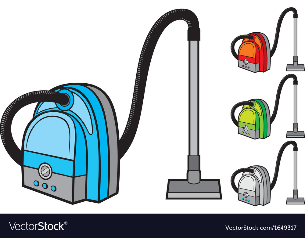 Vacuum cleaner vector | Price: 1 Credit (USD $1)
