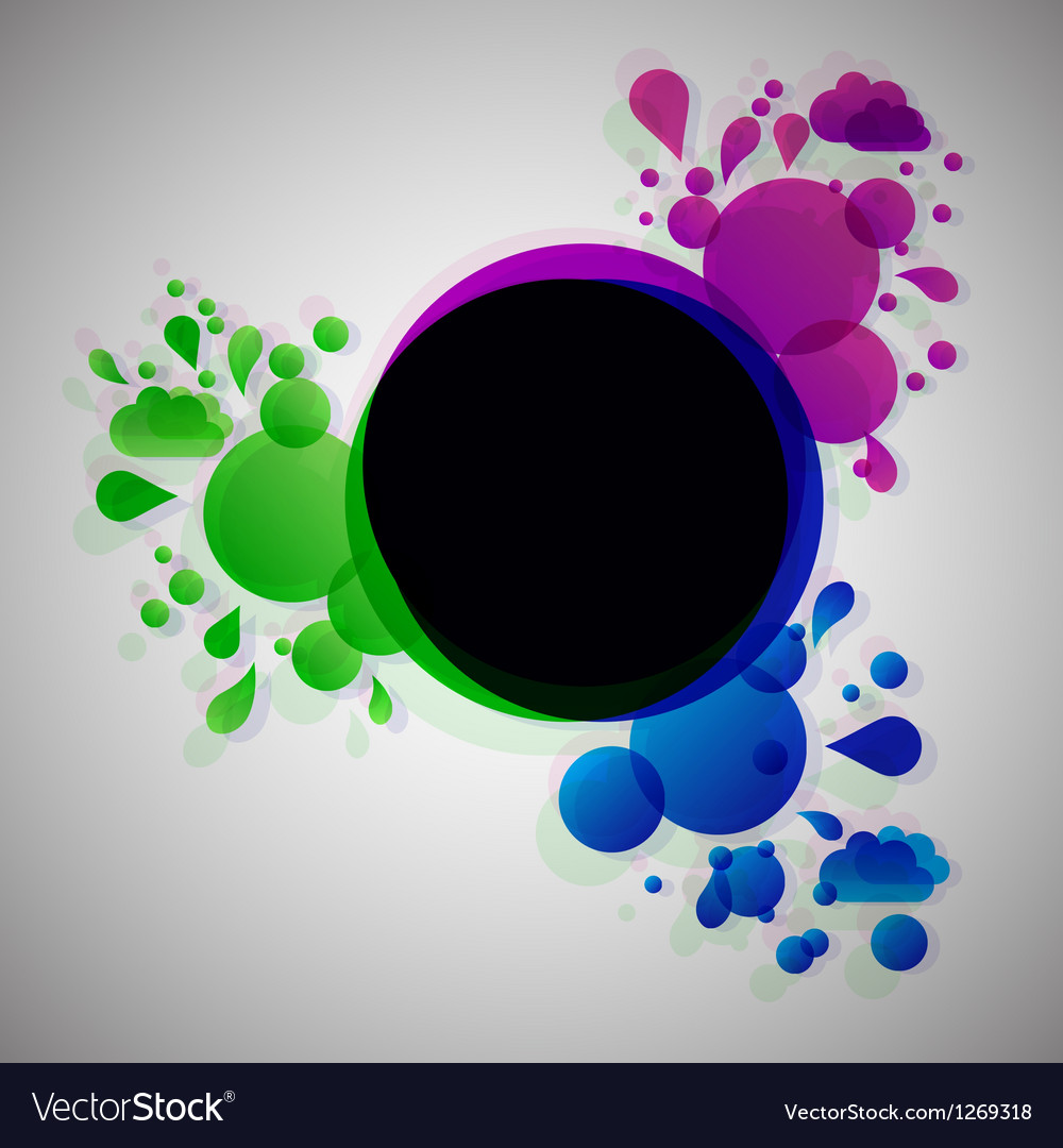 Abstract lava with radial background vector | Price: 1 Credit (USD $1)