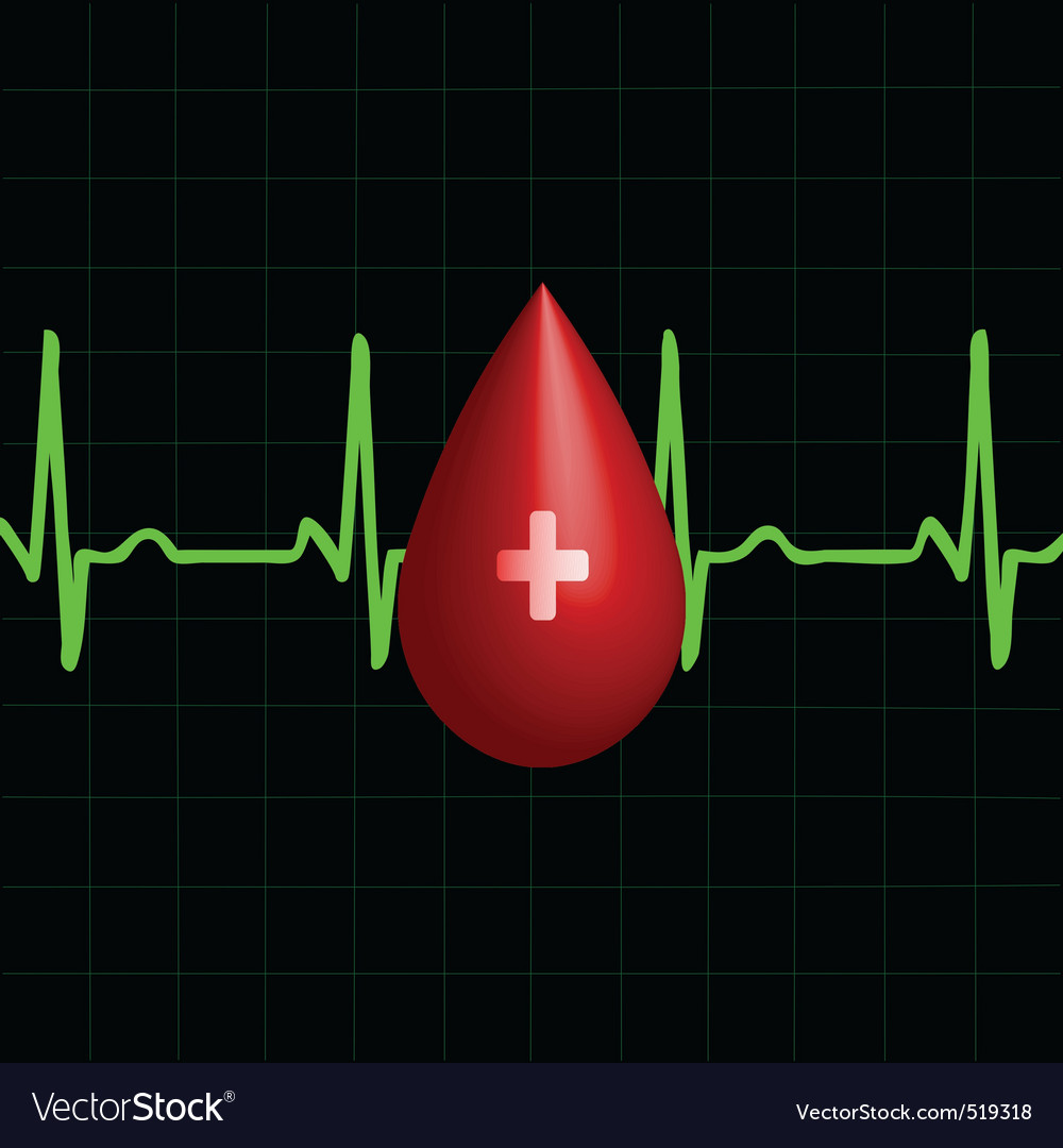 Donor blood vector | Price: 1 Credit (USD $1)