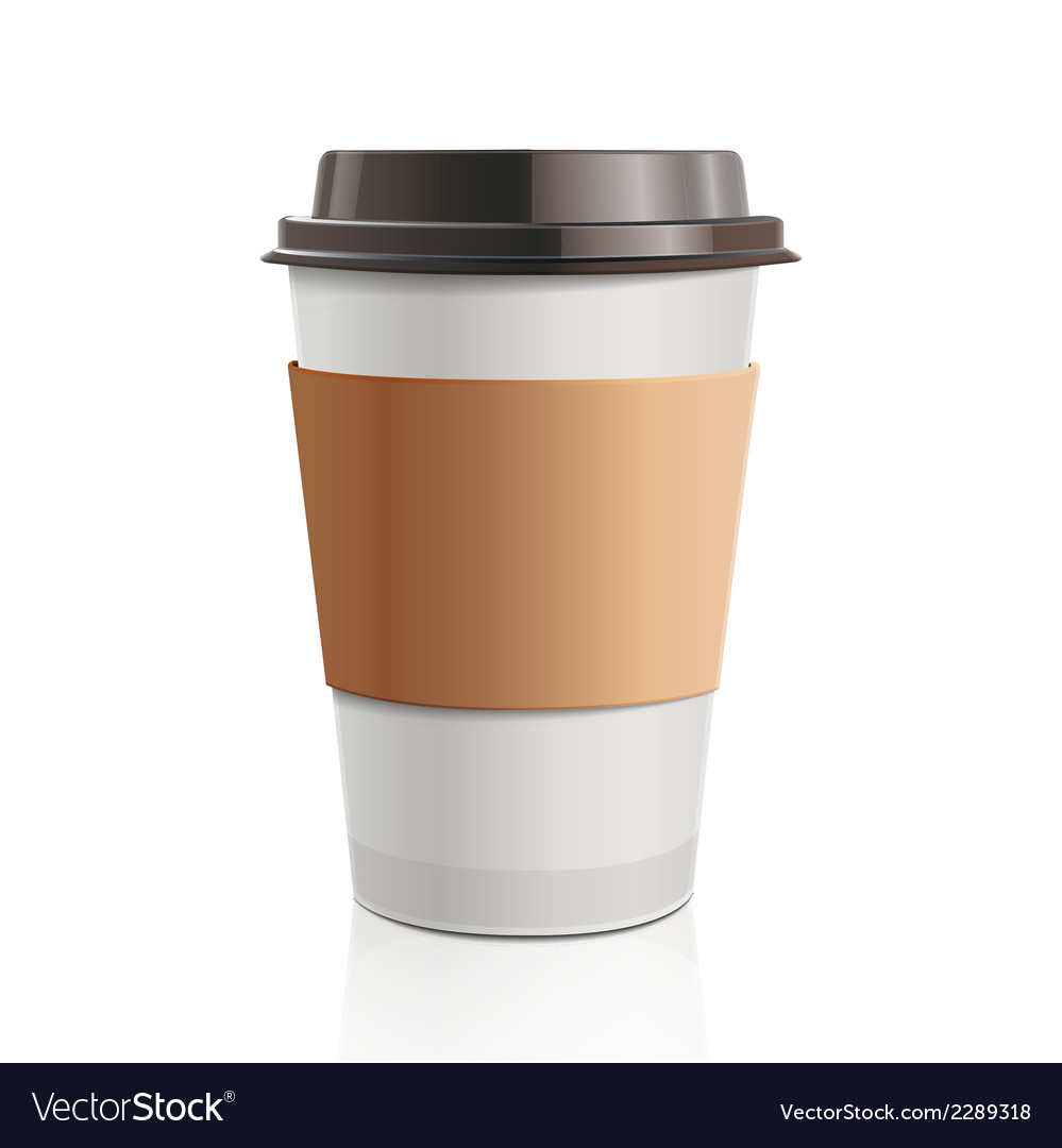 Take-out coffee vector | Price: 1 Credit (USD $1)