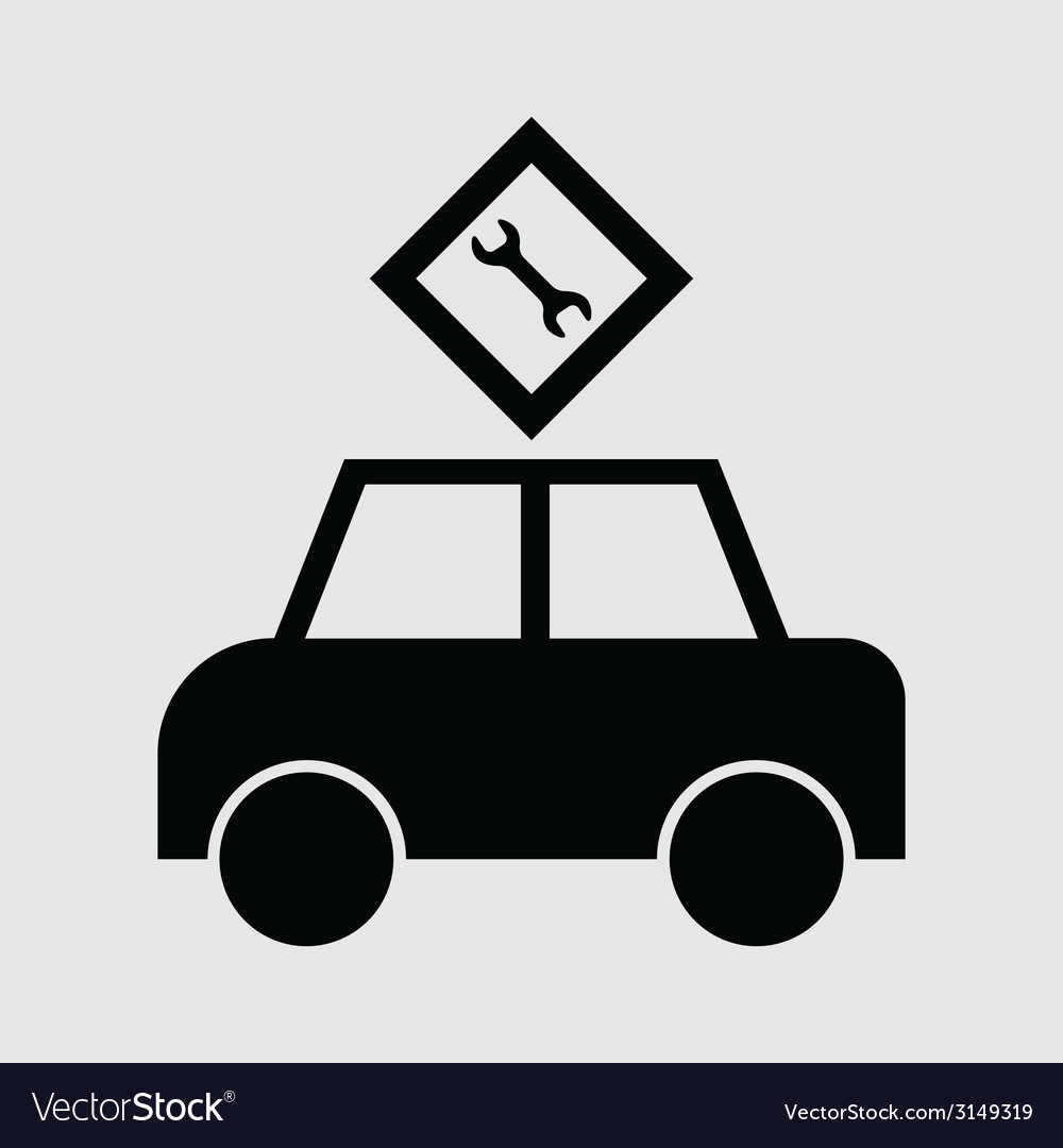 Passenger car icon vector | Price: 1 Credit (USD $1)