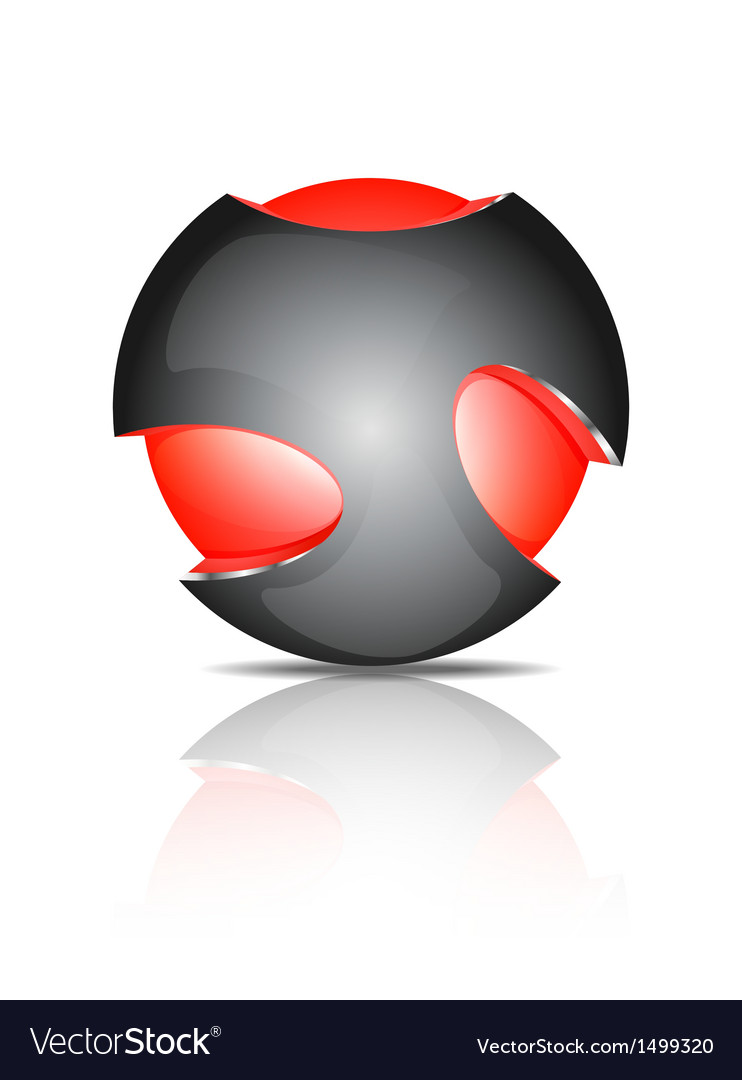 Abstract 3d sphere logos vector   Price: 1 Credit (USD $1)