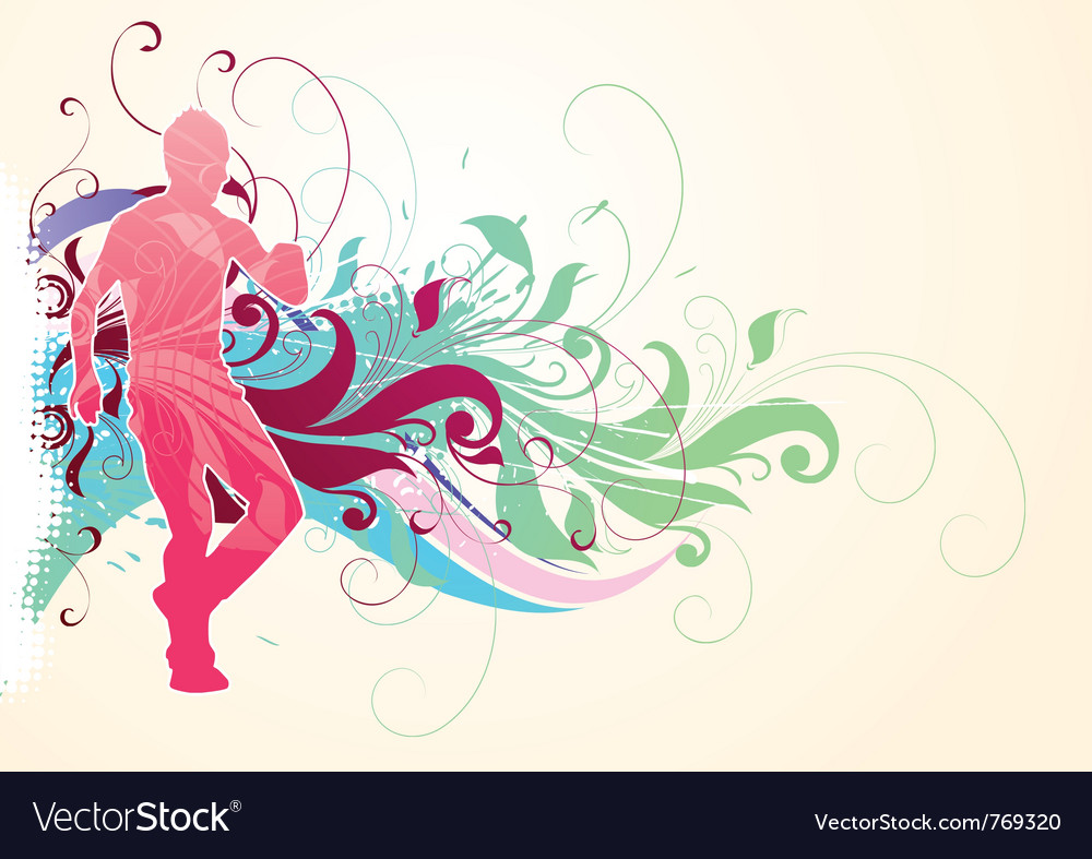 Abstract sports background vector | Price: 1 Credit (USD $1)