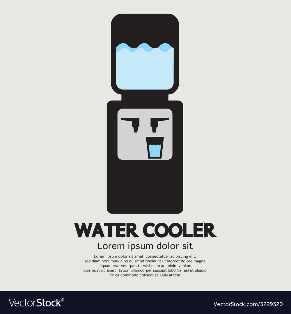 Water cooler graphic vector | Price: 1 Credit (USD $1)