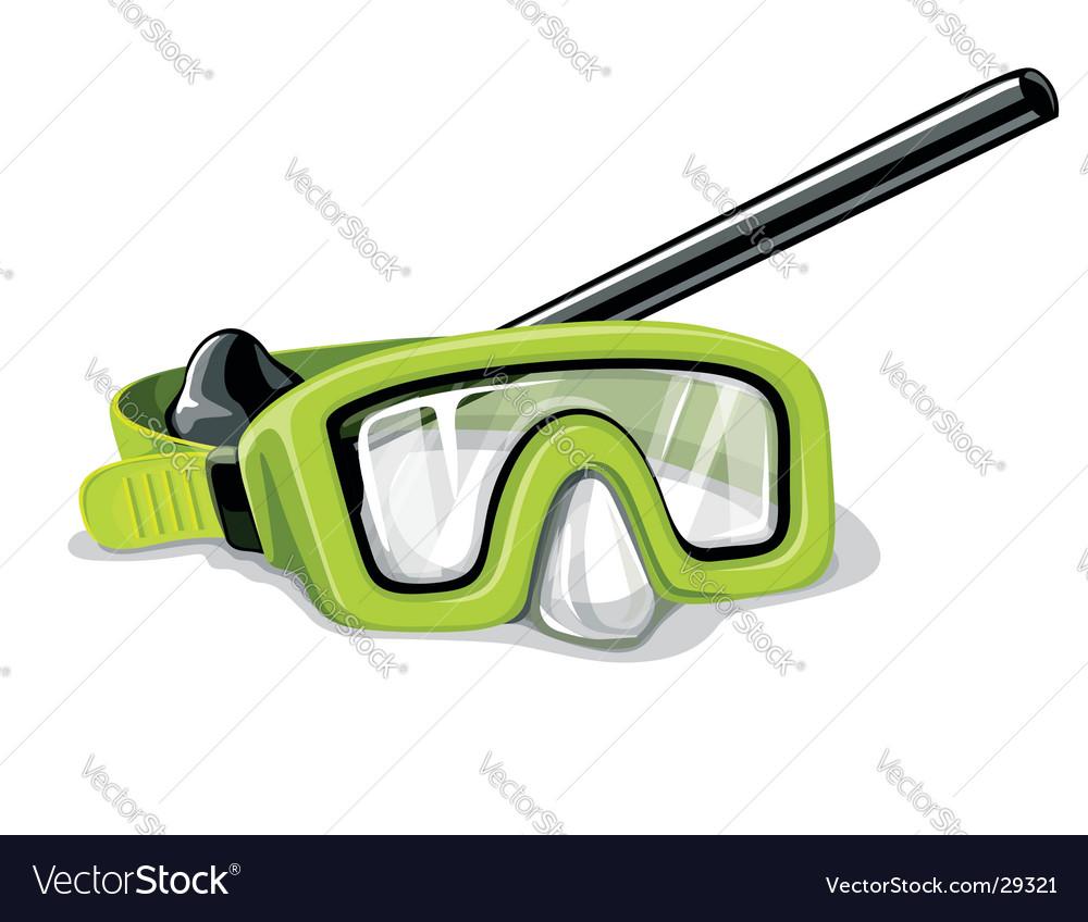 Mask for diving sport illustration vector | Price: 3 Credit (USD $3)