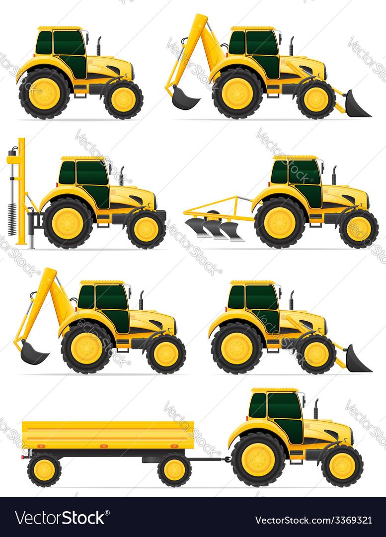 Tractor 08 vector | Price: 5 Credit (USD $5)
