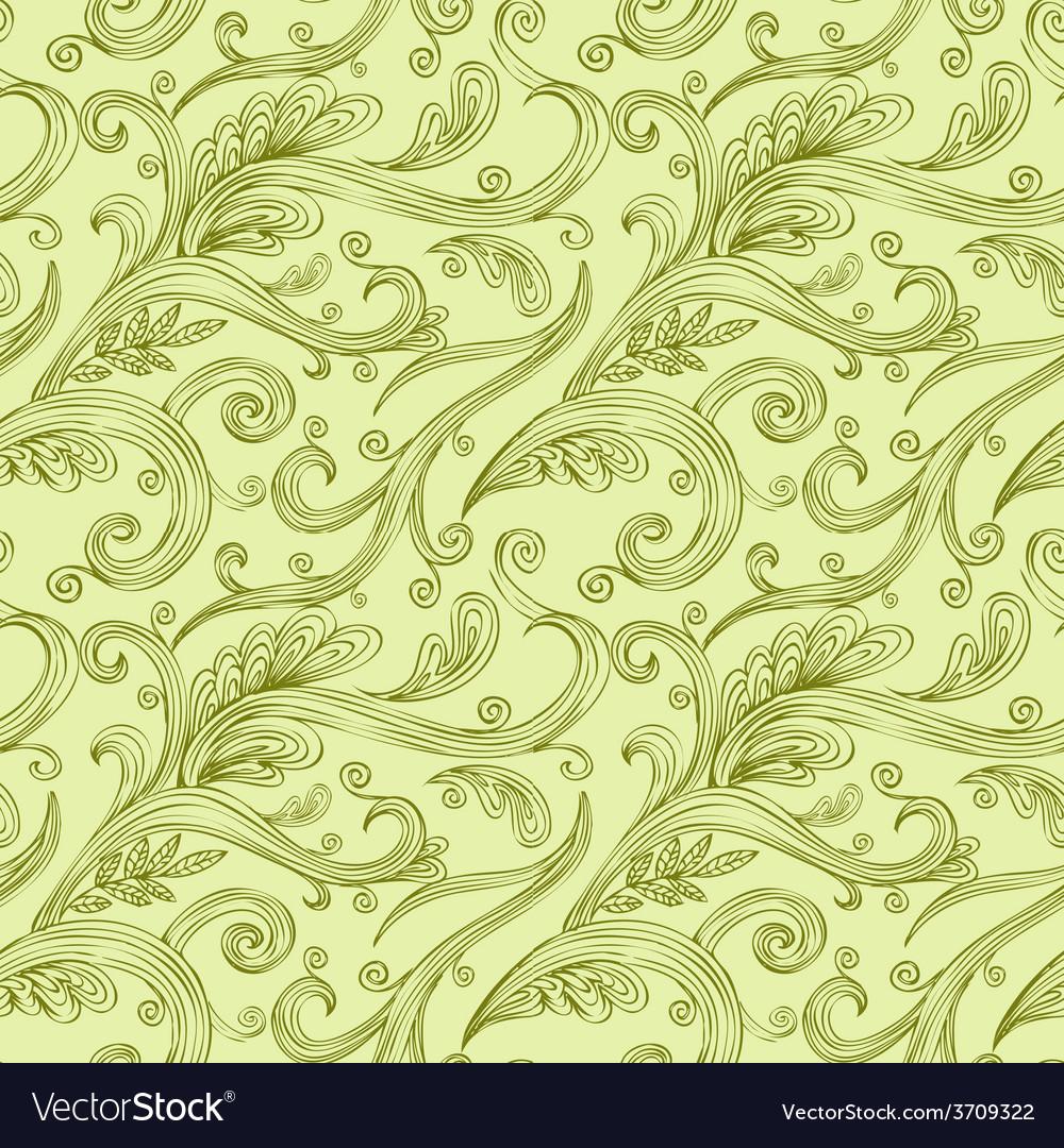 Seamless twirl pattern vector | Price: 1 Credit (USD $1)