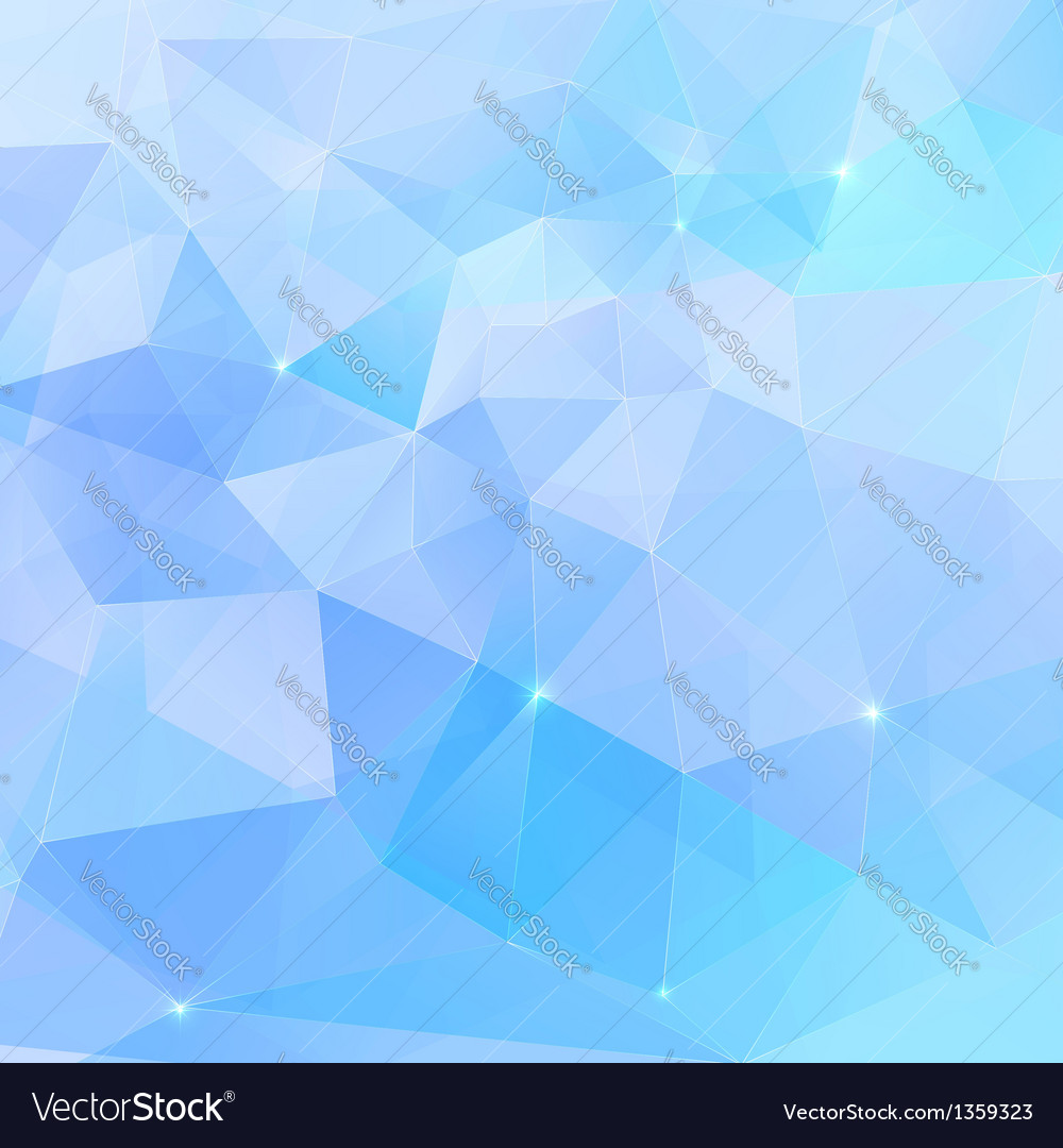 Abstract triangles geometry background vector | Price: 1 Credit (USD $1)
