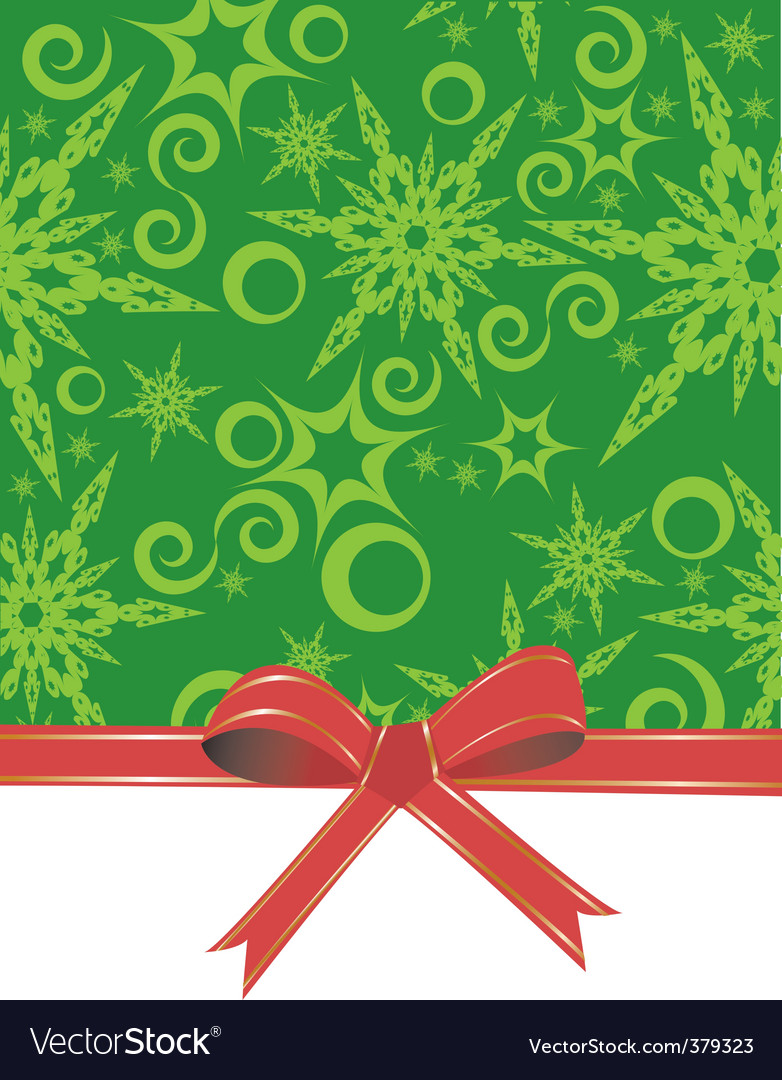 Christmas gift wrap vector | Price: 1 Credit (USD $1)