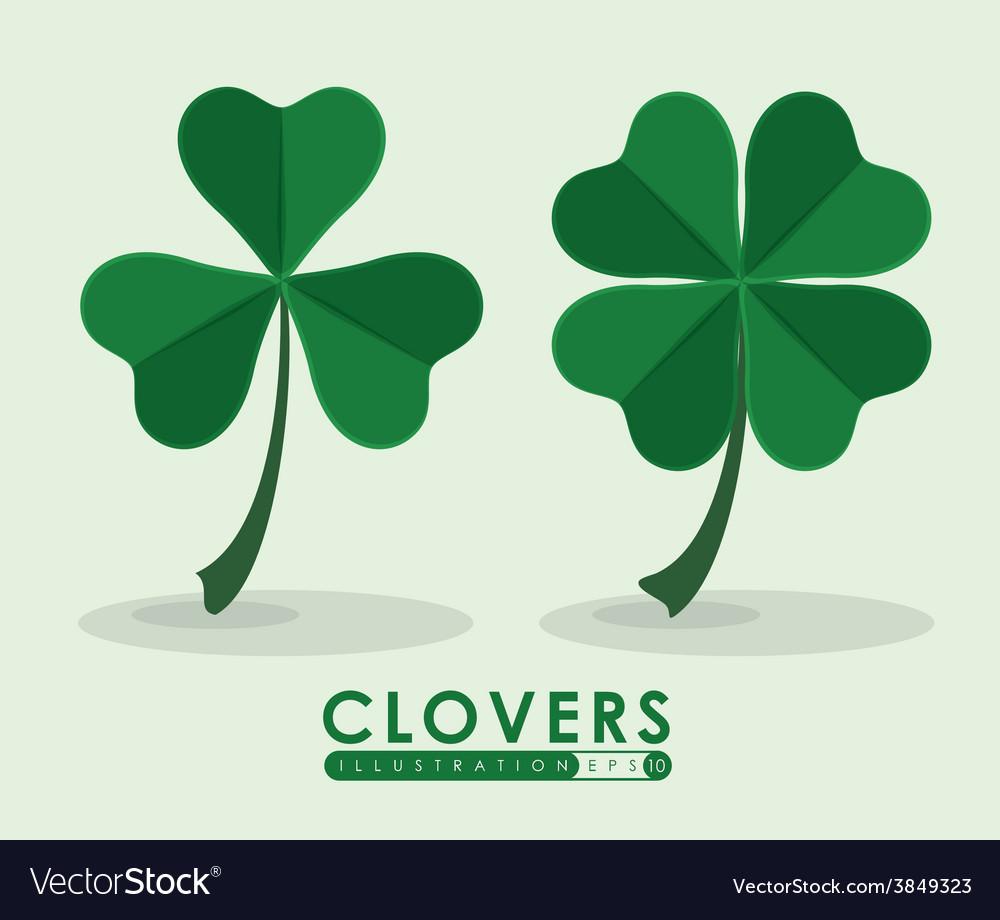Clover icon vector | Price: 1 Credit (USD $1)