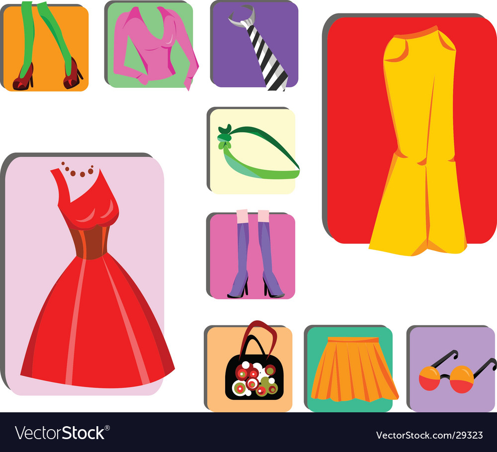 Fashion design elements vector | Price: 1 Credit (USD $1)