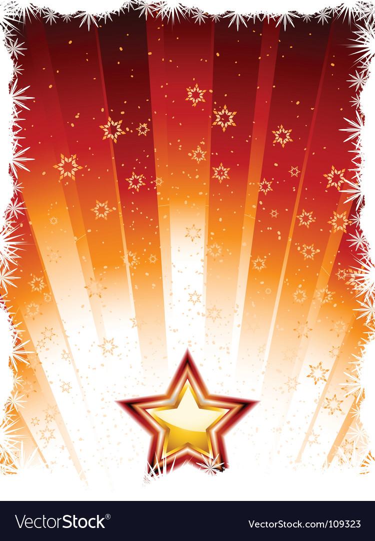 Festive star vector | Price: 1 Credit (USD $1)