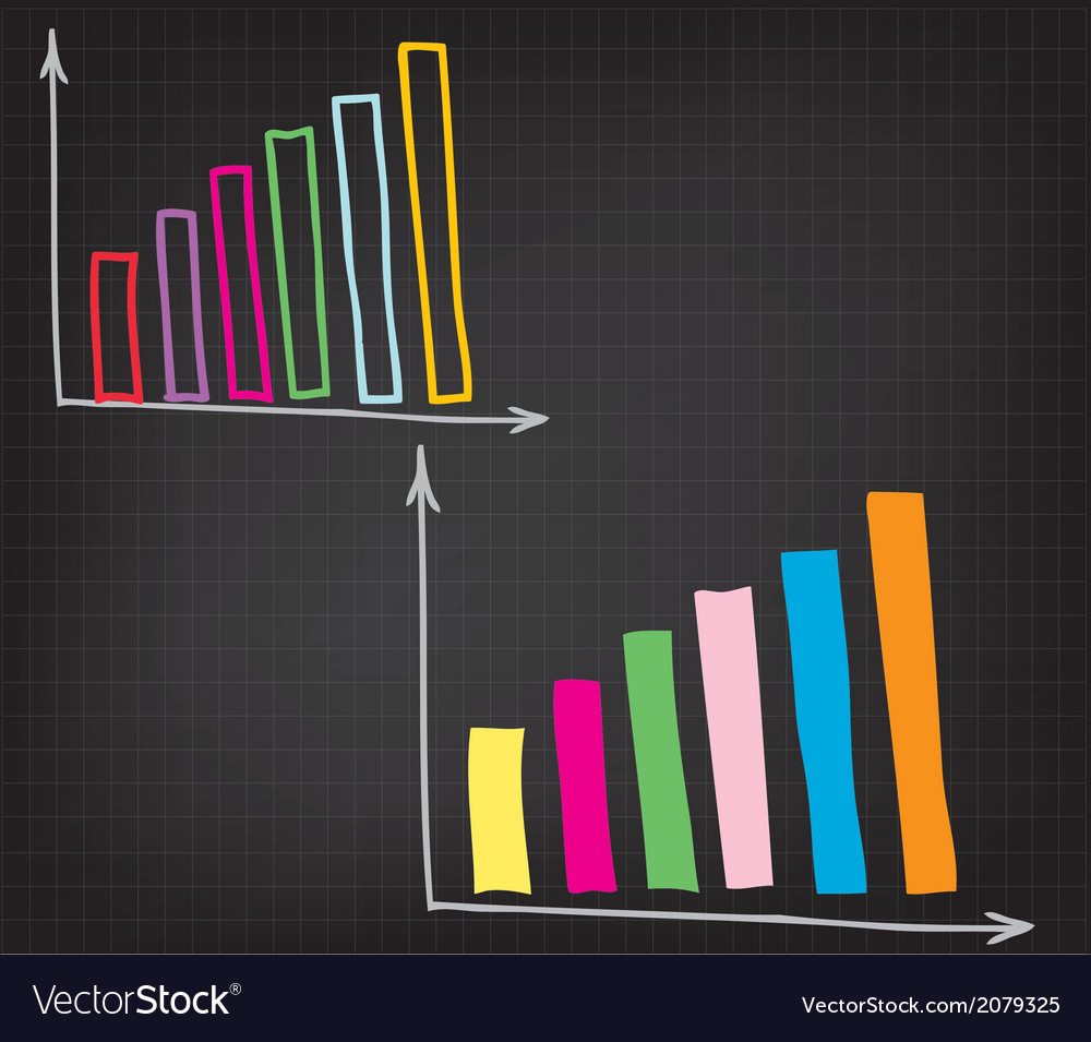 Financial chart vector | Price: 1 Credit (USD $1)