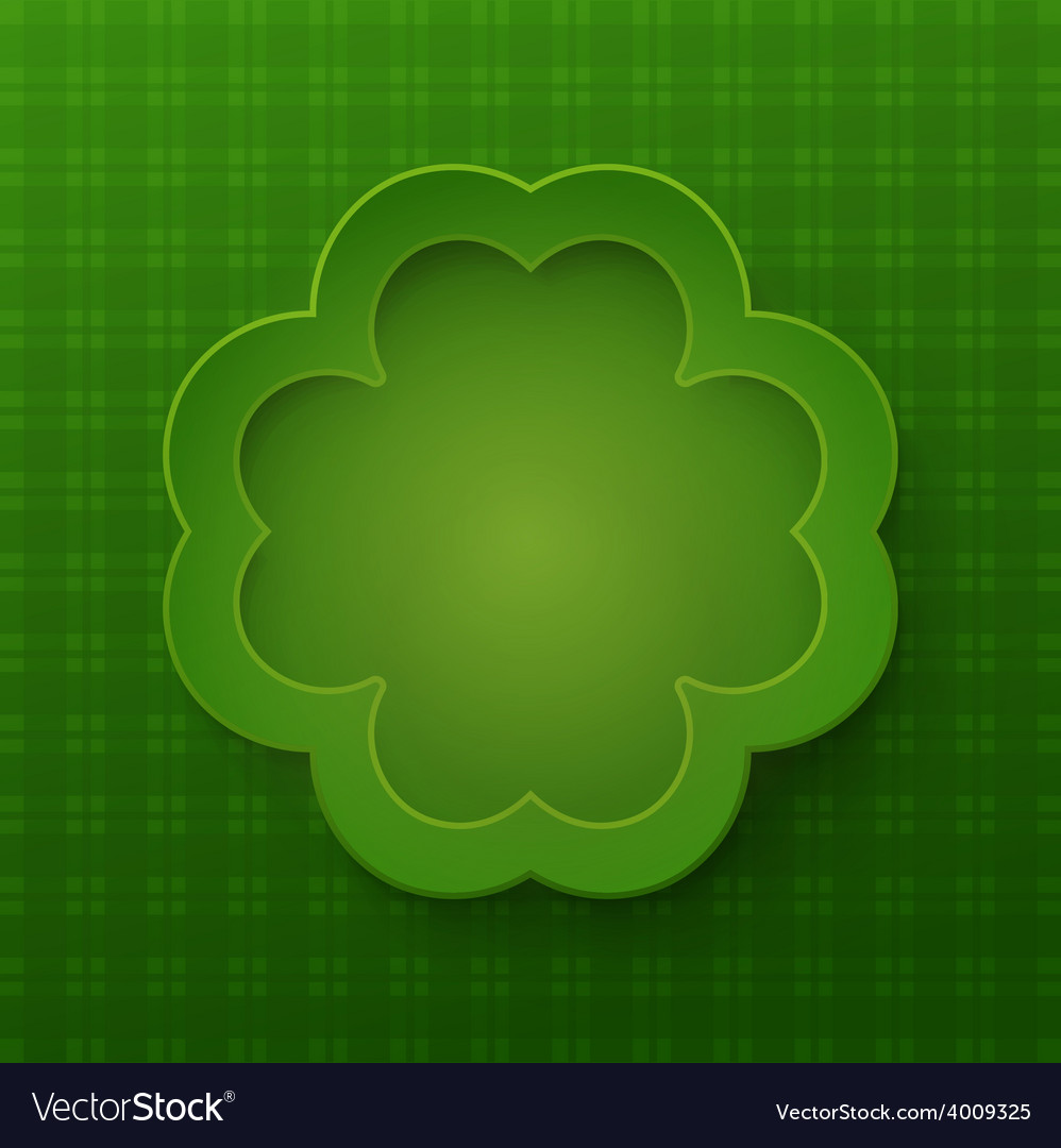 Happy saint patrick day background vector | Price: 1 Credit (USD $1)