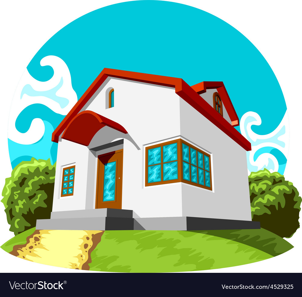 Small house vector | Price: 3 Credit (USD $3)
