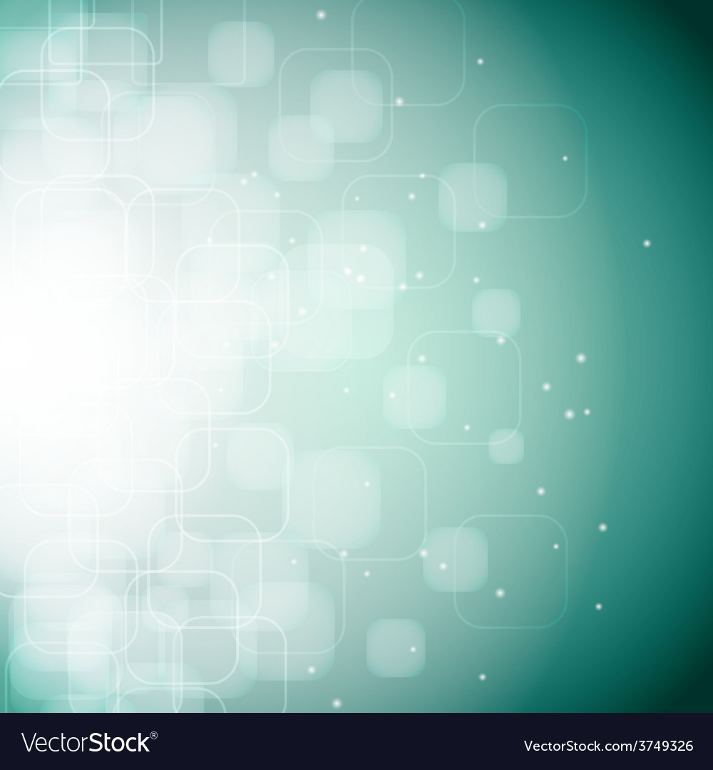 Bokeh rounded square background vector | Price: 1 Credit (USD $1)