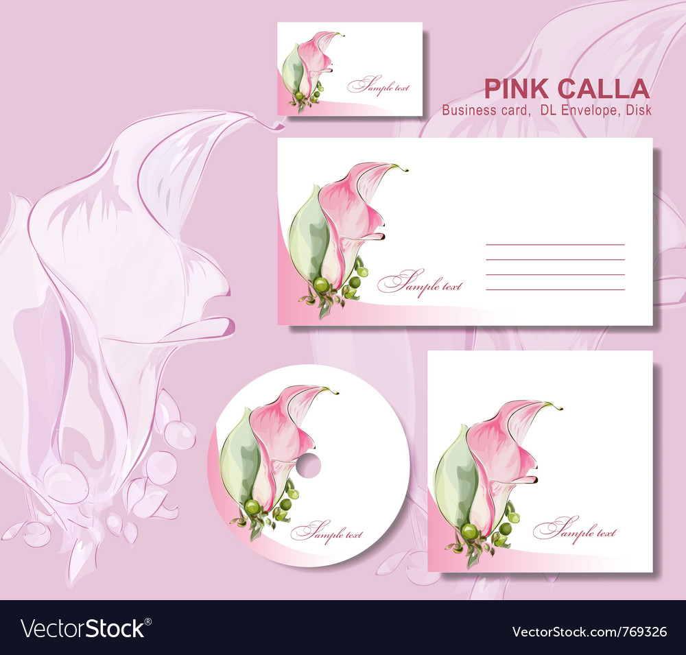 Business card envelope vector | Price: 3 Credit (USD $3)