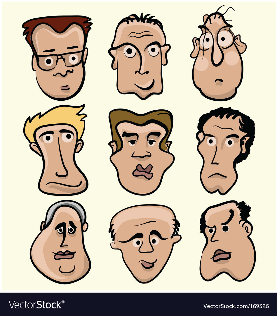 Cartoon people vector | Price: 3 Credit (USD $3)