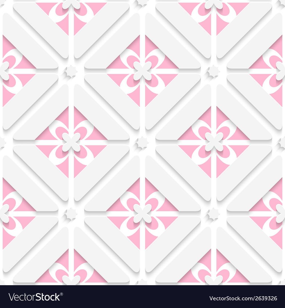 Diagonal pink floristic pattern vector   Price: 1 Credit (USD $1)