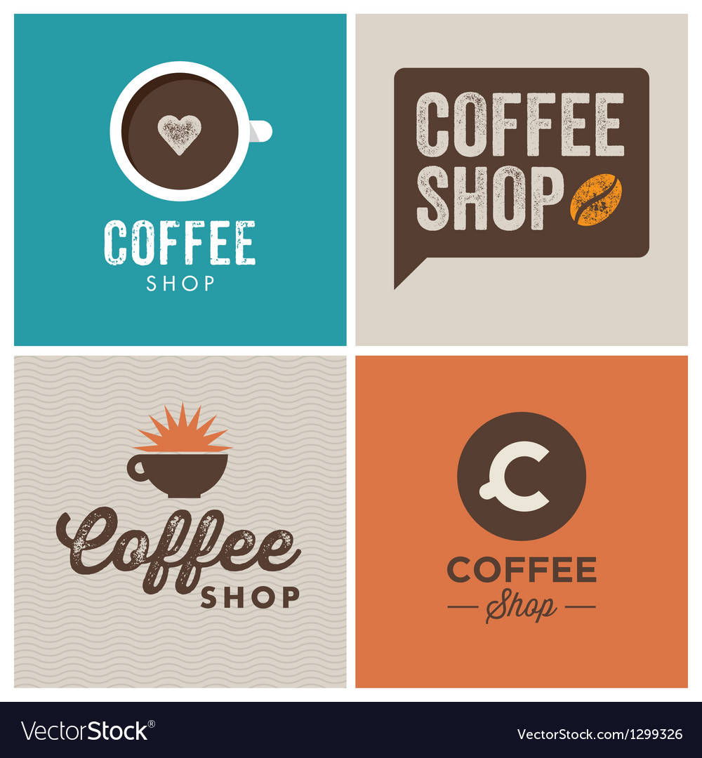 Logo coffee shop vector | Price: 1 Credit (USD $1)