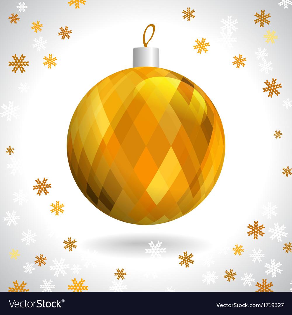 Christmas ball vector   Price: 1 Credit (USD $1)