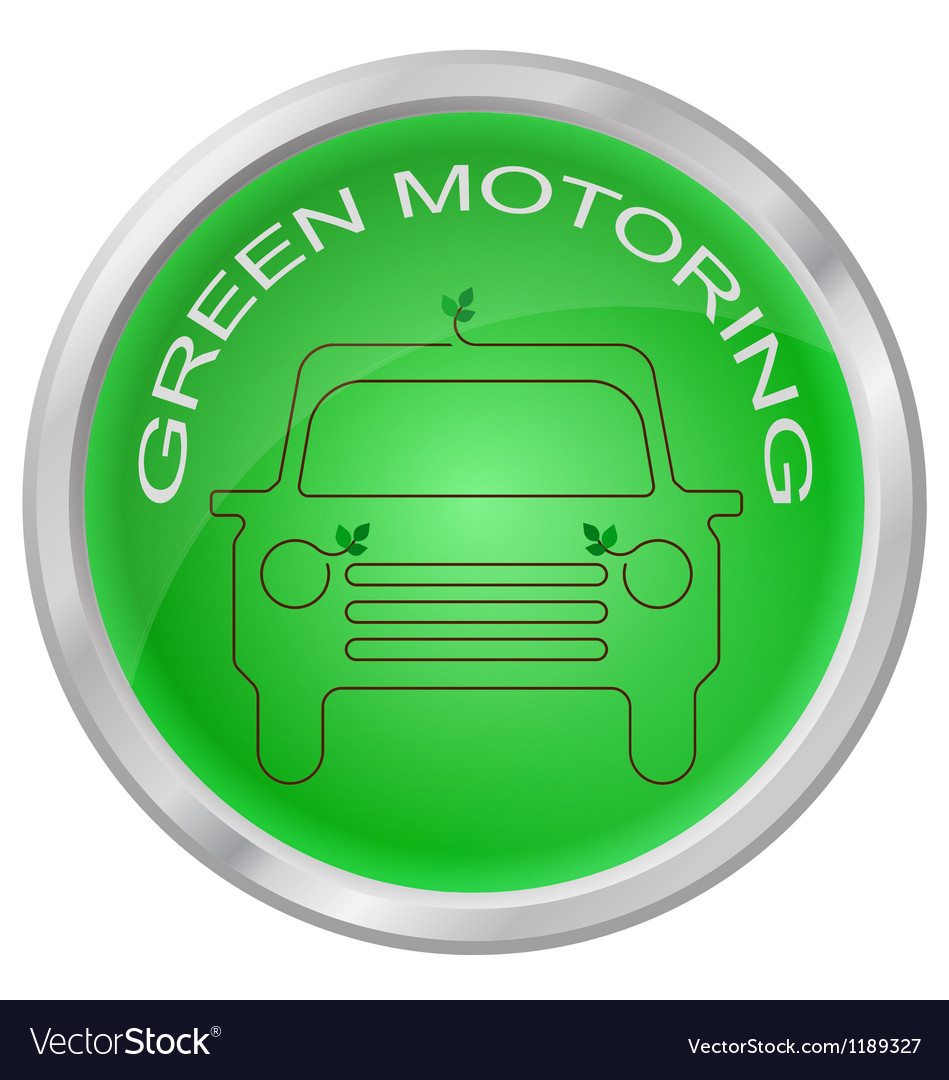Green motoring vector | Price: 1 Credit (USD $1)