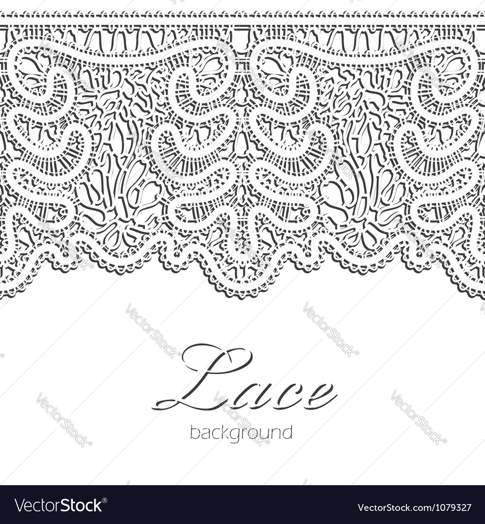Realistic lace vector | Price: 1 Credit (USD $1)