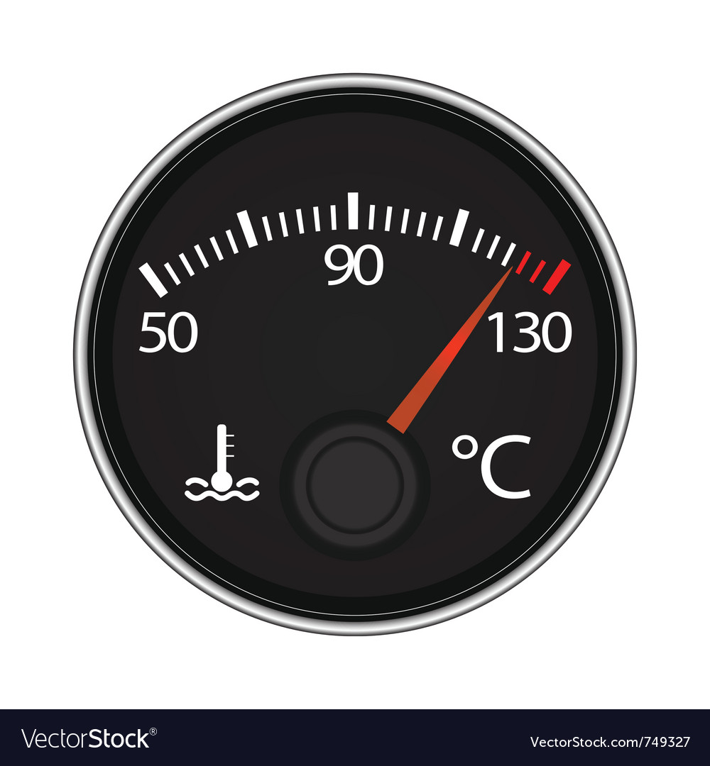 Temperature icon vector | Price: 1 Credit (USD $1)
