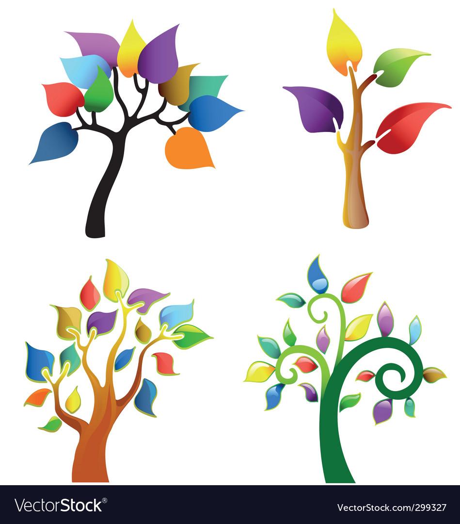 Tree symbol collection vector   Price: 1 Credit (USD $1)