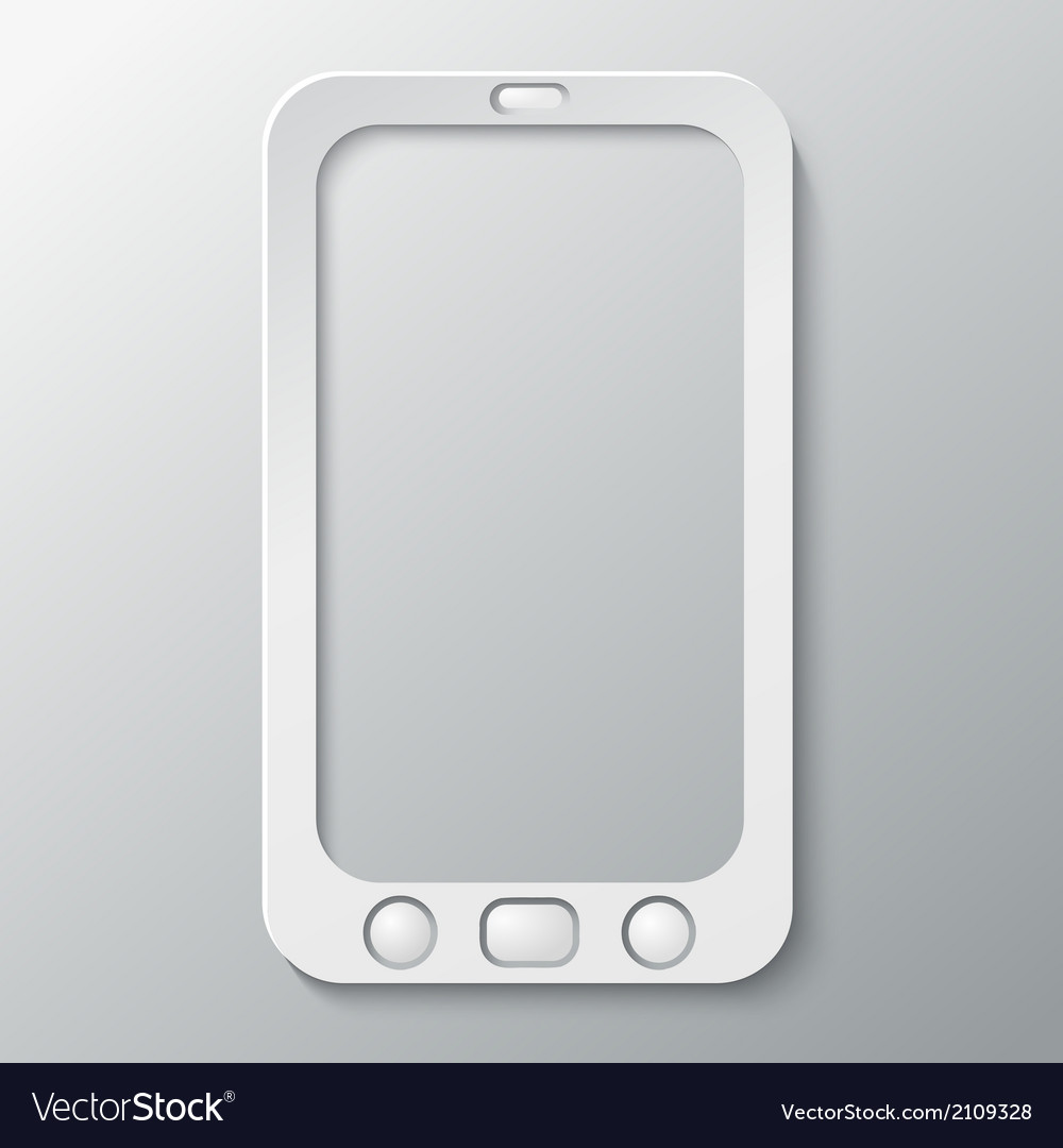 Design element phone vector | Price: 1 Credit (USD $1)