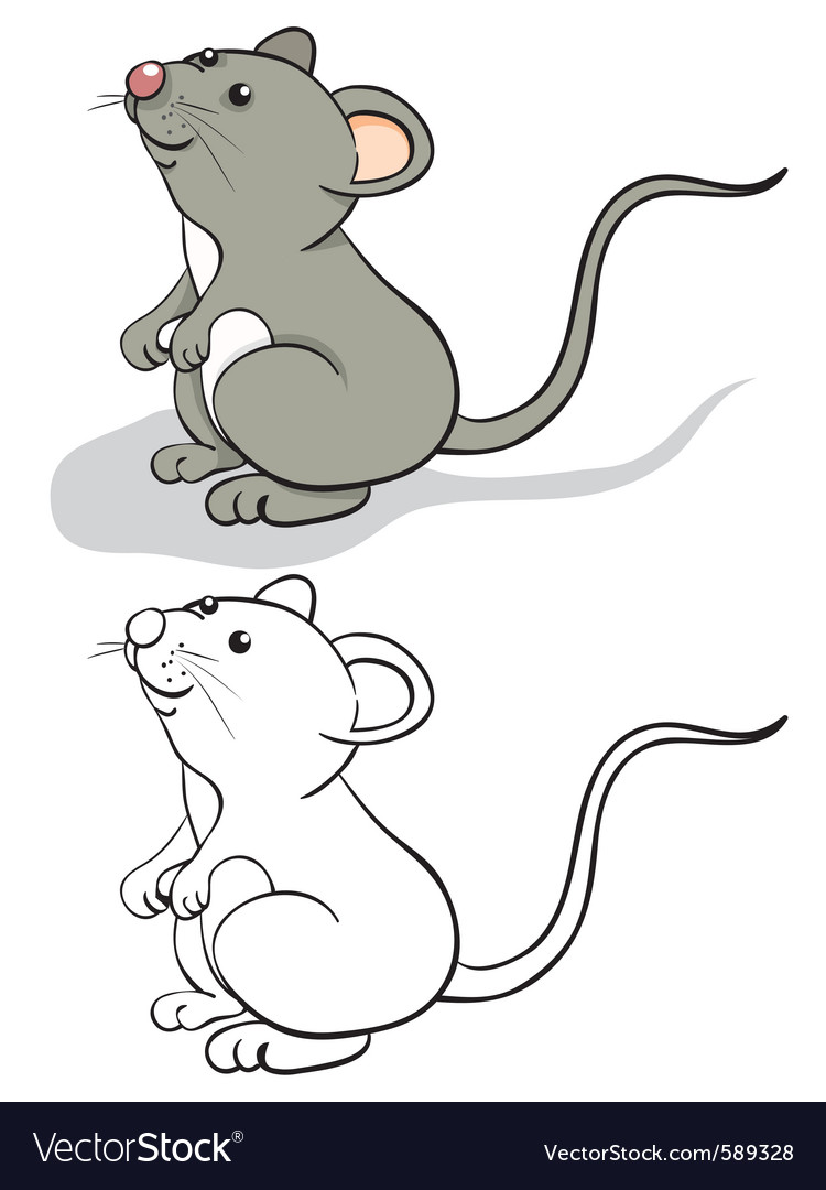 Fun mouse vector | Price: 1 Credit (USD $1)