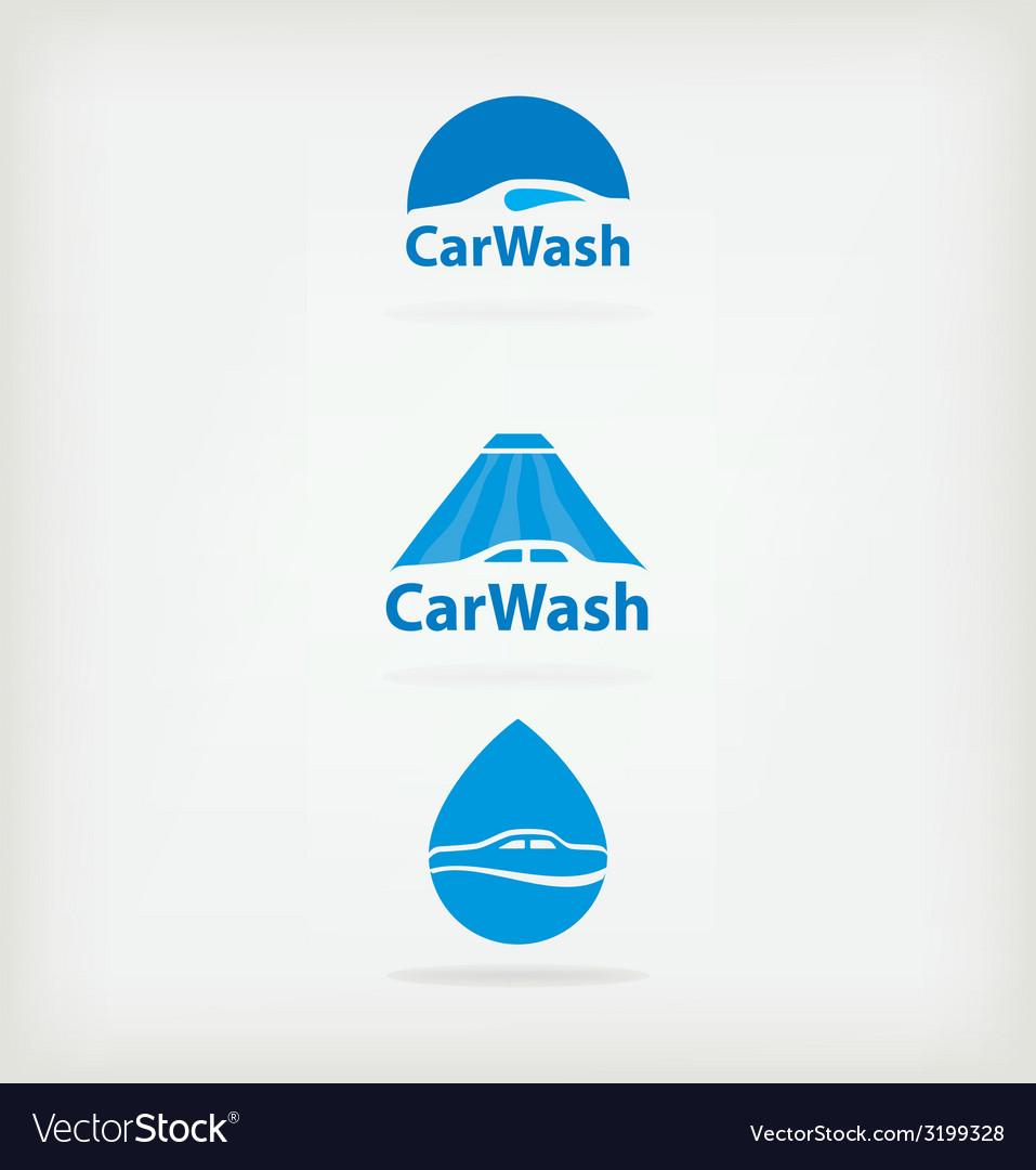Logo car wash vector | Price: 1 Credit (USD $1)