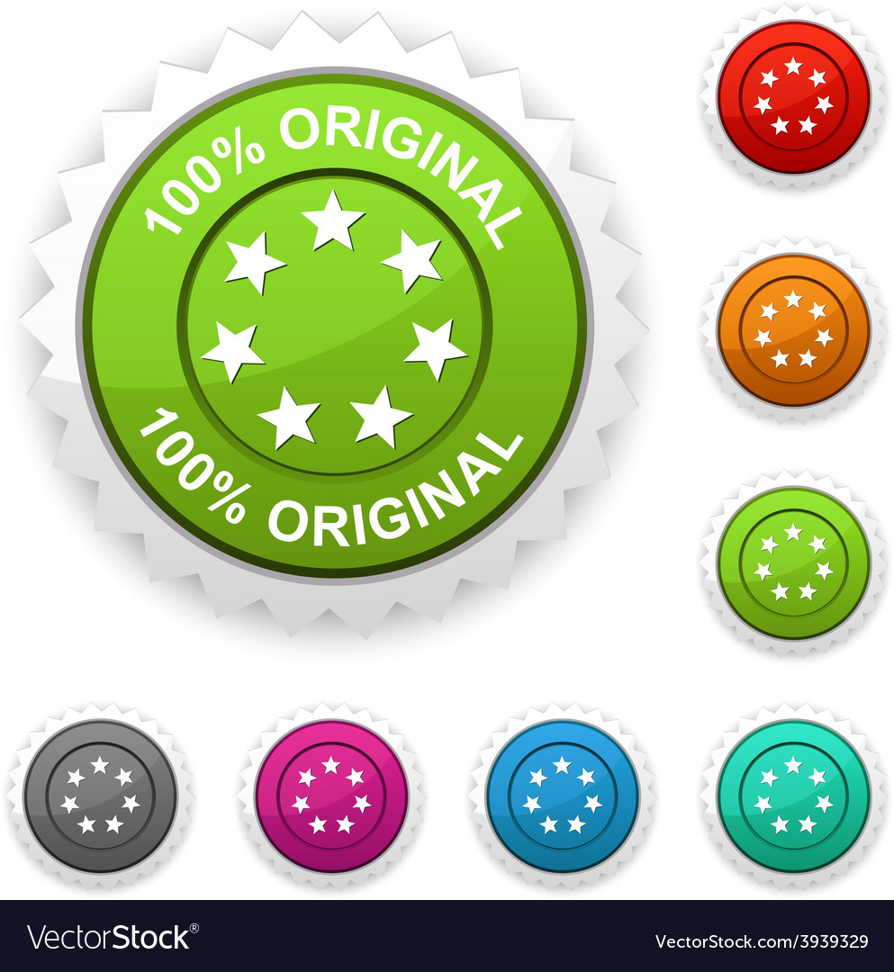 100 original award vector | Price: 1 Credit (USD $1)