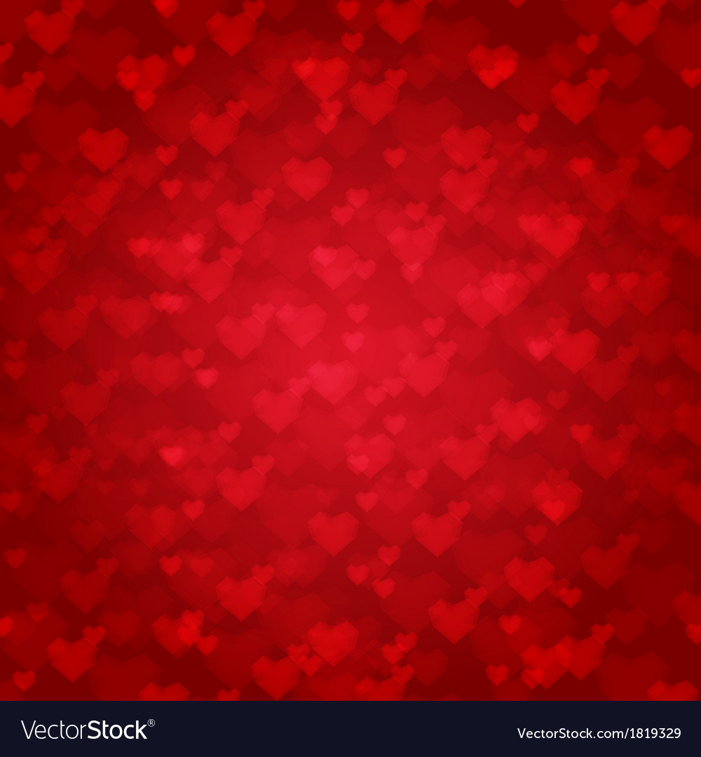 Background from red hearts vector | Price: 1 Credit (USD $1)