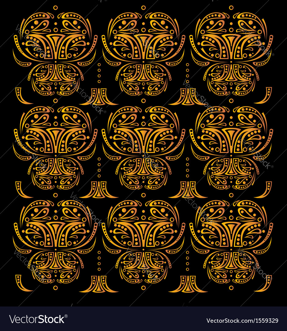 Background with gold elements vector | Price: 1 Credit (USD $1)