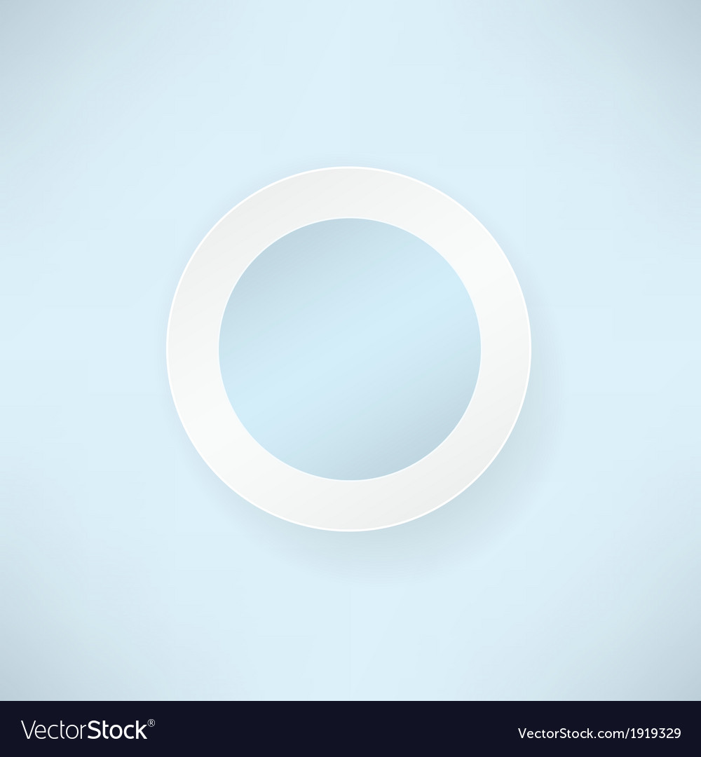 White paper round over blue backgrounds vector | Price: 1 Credit (USD $1)