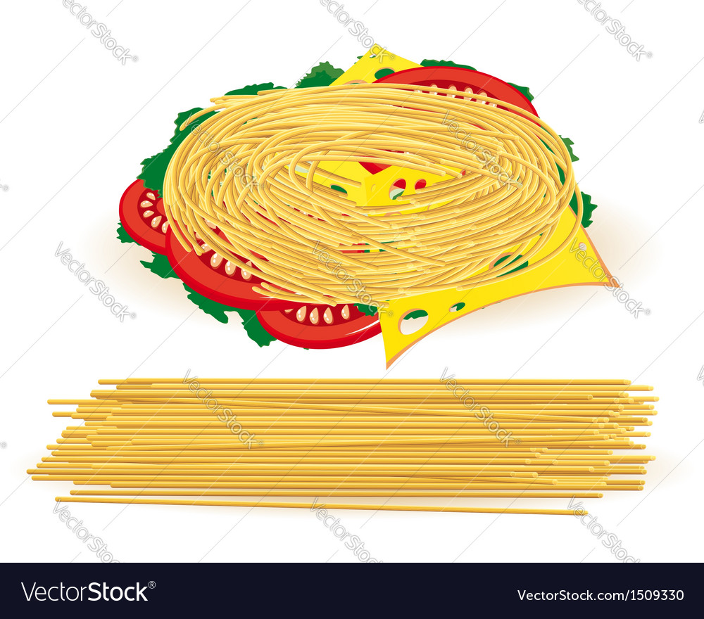 Pasta vector | Price: 1 Credit (USD $1)